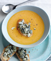 Twice Cooked Harlequin Squash Soup